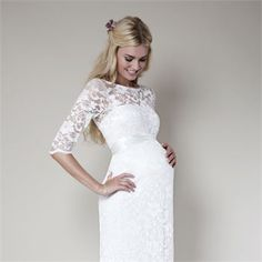 The Best Maternity Wedding Dresses