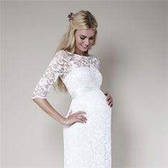 The Best Maternity Wedding Dresses