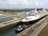 #orbispanama VIDEO: First cruise ship transits expanded Panama Canal - Marine Log #KEVELAIRAMERICA