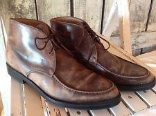 Men's Tod's Brown Leather Ankle Boots sz 8-1/2