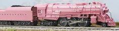 locomotive pink