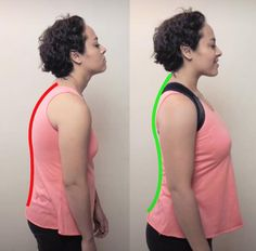 Posture Corrector Back Brace Suffer from back, neck, and hip pain? Use the Posture Corrector Back Brace to improve your posture daily to see rapid improvements in your posterior chain. Poor posture is the reason for many ailments, and the Back Brace ensur Better Posture, Good Posture, Improve Posture, Posture Stretches, Scoliosis Exercises, Tummy Exercises, Hip Pain, Back Pain, Fitness Workouts