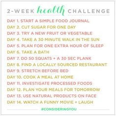 Be Up & Doing: A Health Challenge