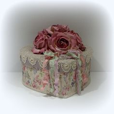 Shabby Chic Box Shabby Chic Decor Cottage by uniqueboxboutique, $39.00- has materials used on site