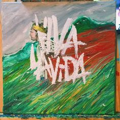 coldplay  viva la vida Moose Art, Artsy, Drawings, Painting, Animals, Live Life, Sketches, Animais, Animales