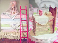 "Princess and the Pea Party | Happy 8th Birthday To our Princess ""Pea-Nut"" » Danette Kay Photography"