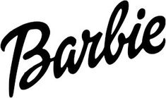 BARBIE LOGO t-shirt fabric iron on transfer for light colored items only Barbie Theme, Barbie Birthday, Barbie Party, Barbie Barbie, Paar Illustration, Barbie Tattoo, Adidas All Star, Iron On Logos, Barbie Drawing