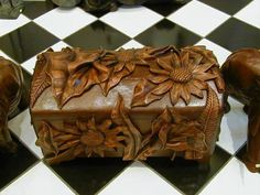 San Juan carved box