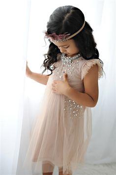At Koko Blush -Tutu Du Monde Little Wonderful Dress in Nude
