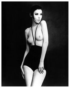 Peggy Moffitt in Rudi Gernreich monokini swimsuit 1964 - Monokini - Wikipedia, the free encyclopedia