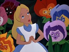 Alice and Wonderland- one of the best disney movies. EVER!