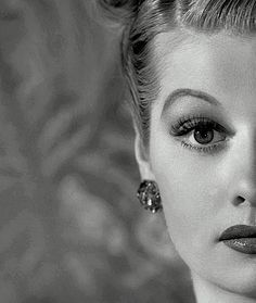 Lucille Ball.  This is a pretty epic photo of her.