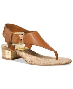 MICHAEL Michael Kors London Thong Sandals | macys.com