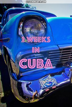 Travel Itinerary for 2 weeks in Cuba