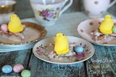 Simple Easter Recipes For Kids: Nesting Peeps