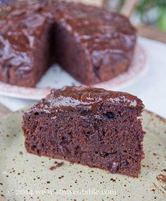 Dark Chocolate Zucchini Cake Recipe