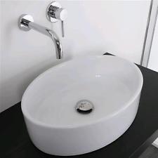 lavabo 48x37 cm rettangolare bacinella lavandino da appoggio ... - Lavandino Arredo Bagno