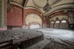 I Photographed An Abandoned Casino That Was Once The Most Magnificent Building In Romania | Bored Panda