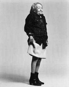 Marguerite Duras, Paris, 1993, by Richard Avedon