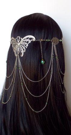 ~ Arwen Butterfly Headdress ~