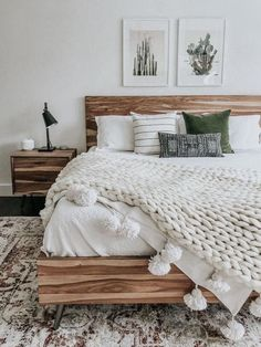 Boho Bedroom Decor, Home Bedroom, Bedroom Furniture, Glam Bedroom, Ikea Bedroom, Bohemian Decor, Earthy Bedroom, Simple Bedroom Decor, Industrial Bedroom Decor