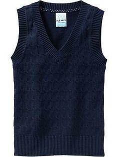 Girls School Uniform Sweaters