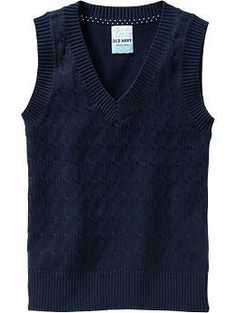 I like that its not a moc sweater vest! You could do long