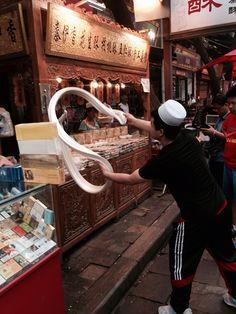 #stretchingtaffee #muslimquartersXian