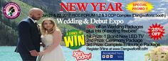We are inviting all soon-to-be-Brides/Grooms to join our New Year Special Promo on January 21 & 22, 2017 Wedding & Debut Expo,PICC Forum 1,2 & 3 CCP Complex, Pasay City (Dangwaflorist b…