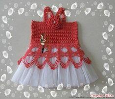 Meu Mundo Craft: Vestidos infantis em crochê
