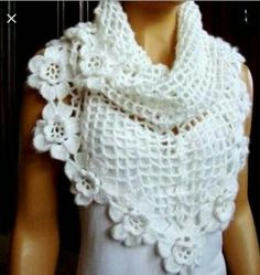 White shawl so beautiful