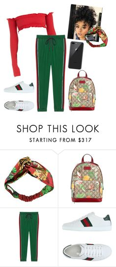 """""""Untitled #1699"""" by aerielle24 ❤ liked on Polyvore featuring Gucci"""