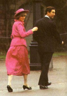princess diana george's chapel   St George's Chapel, Windsor _ 25 Décembre 1982 - Blog sur Lady Diana ...