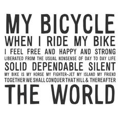 """youcantbuyland: """"I think most people feel like this after a bike ride, no wonder Einstein was a fan. Road Cycling, Cycling Bikes, Road Bike, Cycling Equipment, Cycling Art, Bicycle Quotes, Cycling Quotes, Bike Ride Quotes, Bmx"""