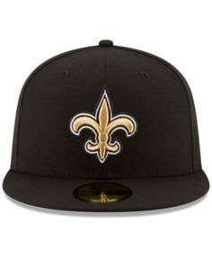 New Era New Orleans Saints Team Basic 59FIFTY Fitted Cap - Black 6 7 8 f83c2c331