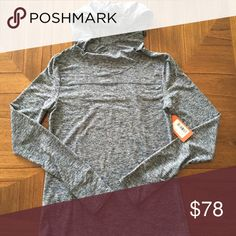 Oiselle Lux Tech Hoodie, 6 NWT..Heather midnight color, size 6..hopefully someone else will get to wear this amazing hoodie! oiselle Tops Sweatshirts & Hoodies