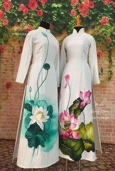 Fabric Painting On Clothes, Fabric Paint Shirt, Dress Painting, Painted Clothes, Silk Painting, Saree Painting Designs, Fabric Paint Designs, Kurta Designs, Blouse Designs