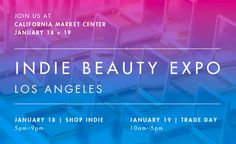 We're so thrilled to be participating at IBE LA 2017! Get your tickets now before they sell out and we'll see you at the show! #IBELA2017