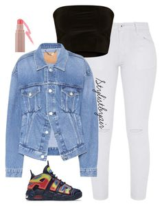 """""""Untitled #7589"""" by stylistbyair ❤ liked on Polyvore featuring NIKE, Balenciaga and Puma"""