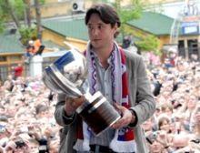 Ilya Kovalchuk brought the FIFA World Cup in his city Kalinin.