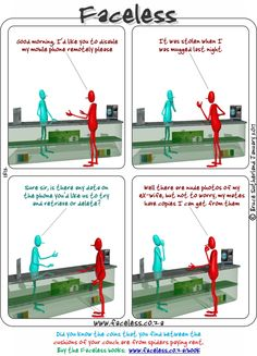 Faceless Comics: I d like you to disable my mobile phone