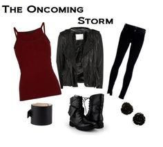 The Oncoming Storm style. Doctor Who fashion. :)