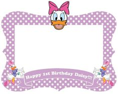 Minnie mouse Mickey mouse Daisy Duck frame / by LILACandDESINGS