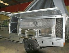 Just thought I'd introduce myself as a new member to the Expedition Portal and share me experiences in building a purpose built vehicle for travel around. Truck Flatbeds, Truck Tool Box, Truck Camper, Camper Trailers, Truck Boxes, Campers, Ute Camping, Best 4x4 Cars, Flatbed Truck Beds