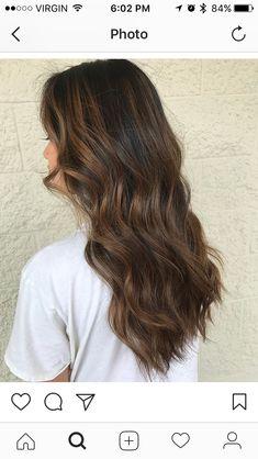Beliage Hair, Medium Hair Styles, Curly Hair Styles, Cinnamon Hair, Brown Hair Balayage, Chocolate Hair, Haircuts For Long Hair, Dream Hair, Brunette Hair