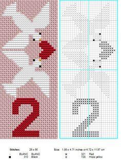 2 Turtle Doves by ~NevaSirenda on deviantART 12 Days of Christmas cross stitch Cross Stitching, Cross Stitch Embroidery, Hand Embroidery, Cross Stitch Designs, Cross Stitch Patterns, 12 Days Of Xmas, Turtle Dove, Cross Stitch Tree, Plastic Canvas Christmas