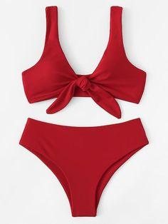 2020 Women Swimsuits Bikini Mens Onesie Swimsuit Plaid Bathing Suit Flattering Swimsuits For Curves Swimsuit One Piece String Modest Swimwear Uk, Plus Swimwear, High Leg Bikini, Thong Bikini, Red Bikini Set, Bikini Bottoms, Summer Bathing Suits, Cute Bathing Suits, Summer Bikinis