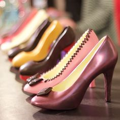 The best things in life are chocolate - especially chocolate heels from Gayle's Chocolates