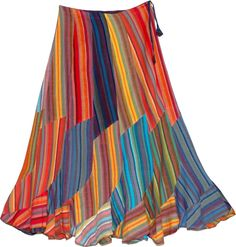 Ethnic Skirt  wear with lots of turquoise jewelry!