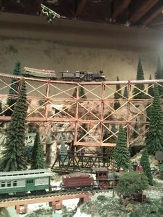 Model railroad I play with sometimes